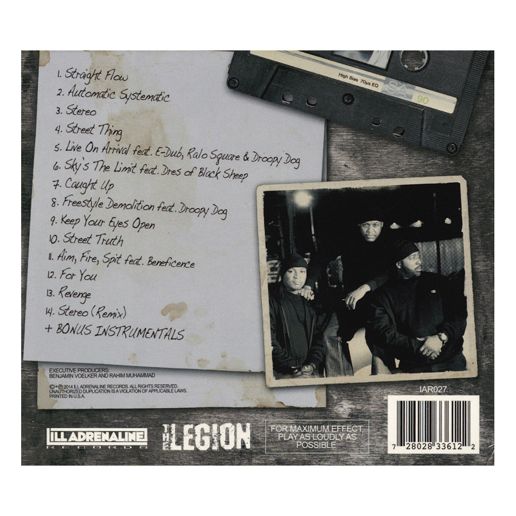 <!--020140520063093-->The Legion - 'The Lost Tapes' [CD]