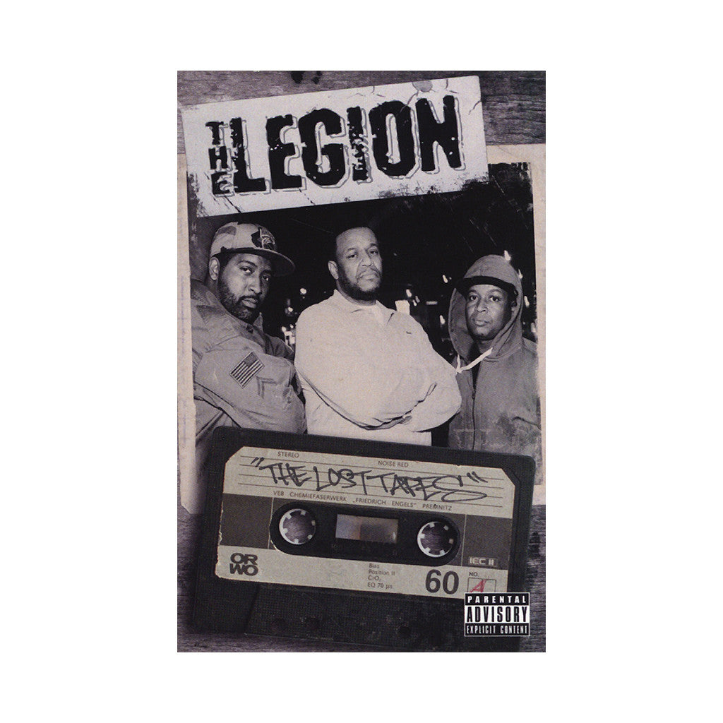 <!--120140603064666-->The Legion - 'The Lost Tapes' [(Clear) Cassette Tape]