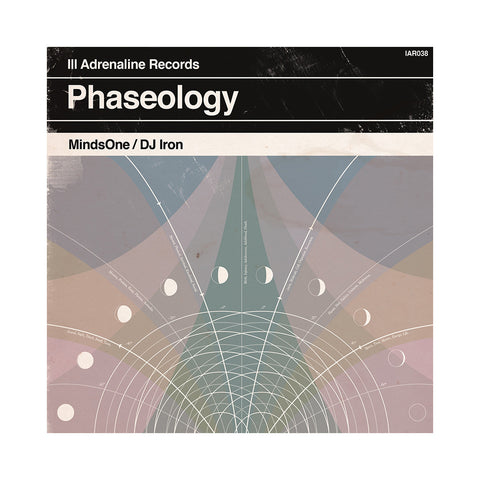 MindsOne & DJ Iron - 'Phaseology' [(Black) Vinyl LP]