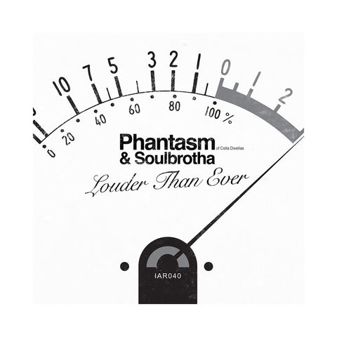 "Phantasm & Soulbrotha - 'Louder Than Ever/ Louder Than Ever (Brooklyn Remix)' [(Black) 7"" Vinyl Single]"