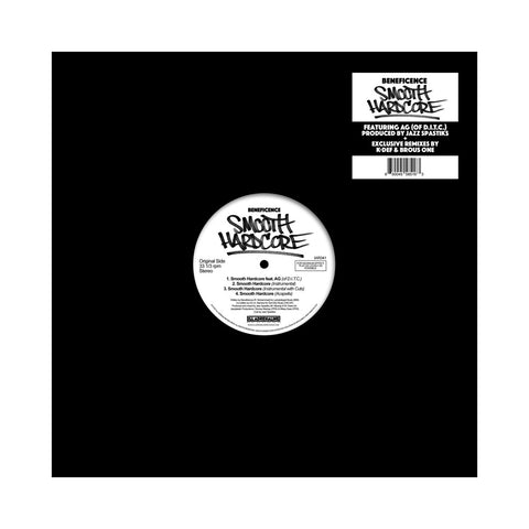 "Beneficence - 'Smooth Hardcore/ Smooth Hardcore (Remixes)' [(Black) 12"""" Vinyl Single]"