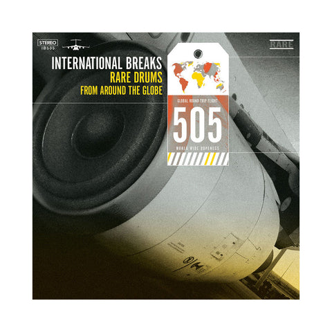 "[""International Breaks - 'International Breaks 505: Rare Drums From Around The Globe' [(Black) Vinyl LP]""]"