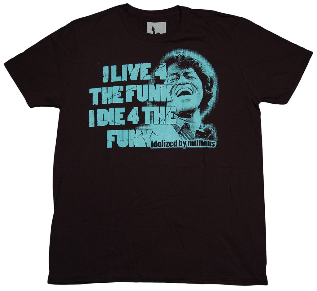 <!--2012092526-->Idolized By Millions - 'Live 4 The Funk' [(Black) T-Shirt]