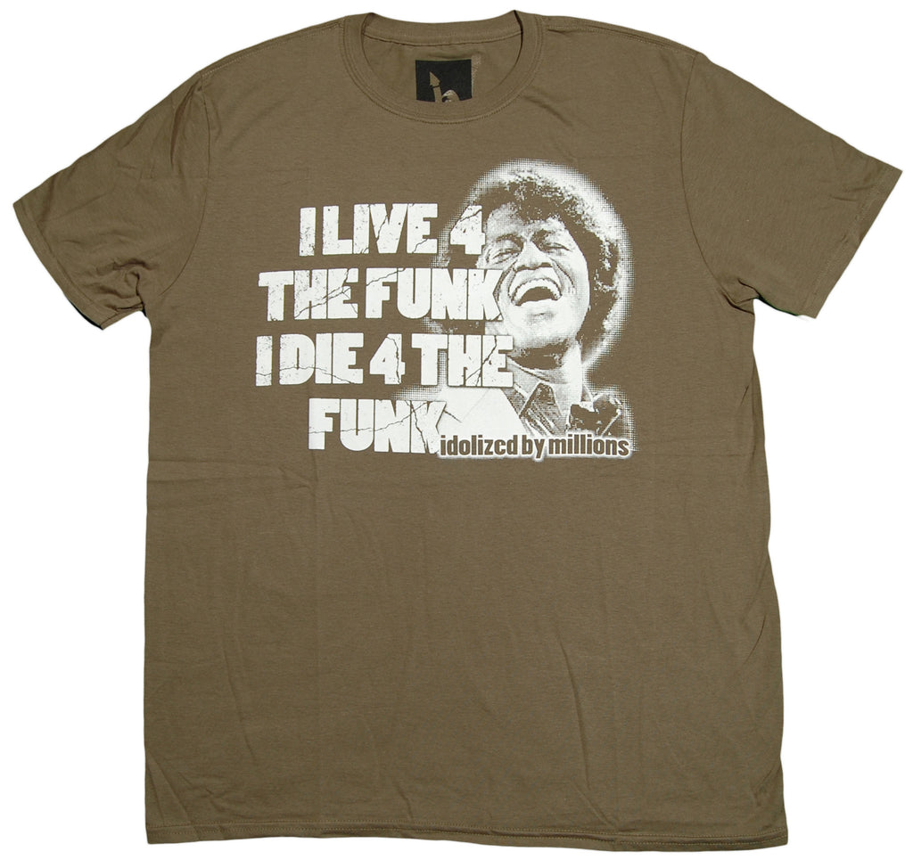<!--2012092514-->Idolized By Millions - 'Live 4 The Funk' [(Dark Green) T-Shirt]