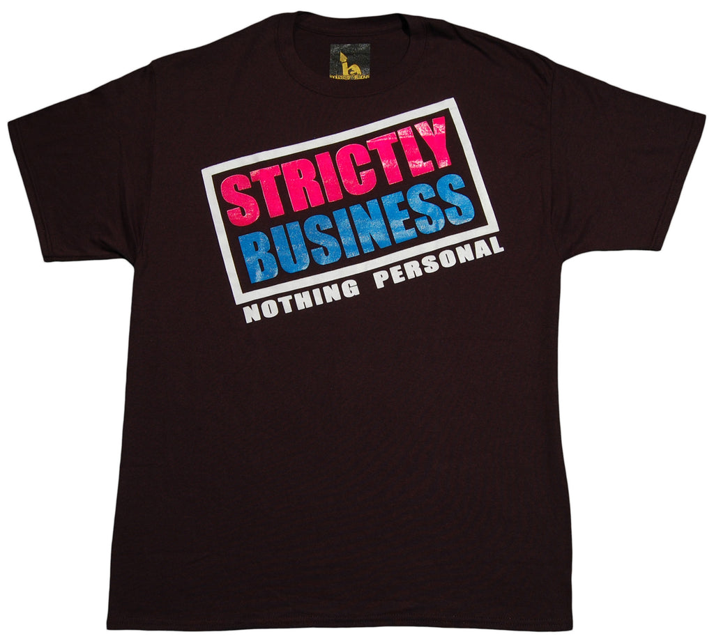 <!--2012092506-->Idolized By Millions - 'Strictly Business' [(Black) T-Shirt]