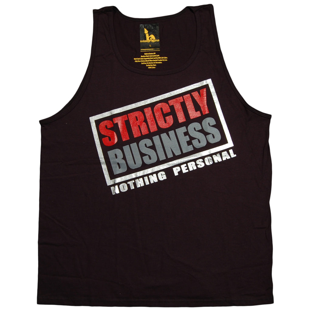 <!--2012092510-->Idolized By Millions - 'Strictly Business' [(Black) Tank Top]
