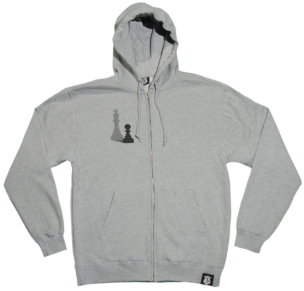<!--2012022119-->IC3 - 'Heart Of A King' [(Gray) Hooded Sweatshirt]