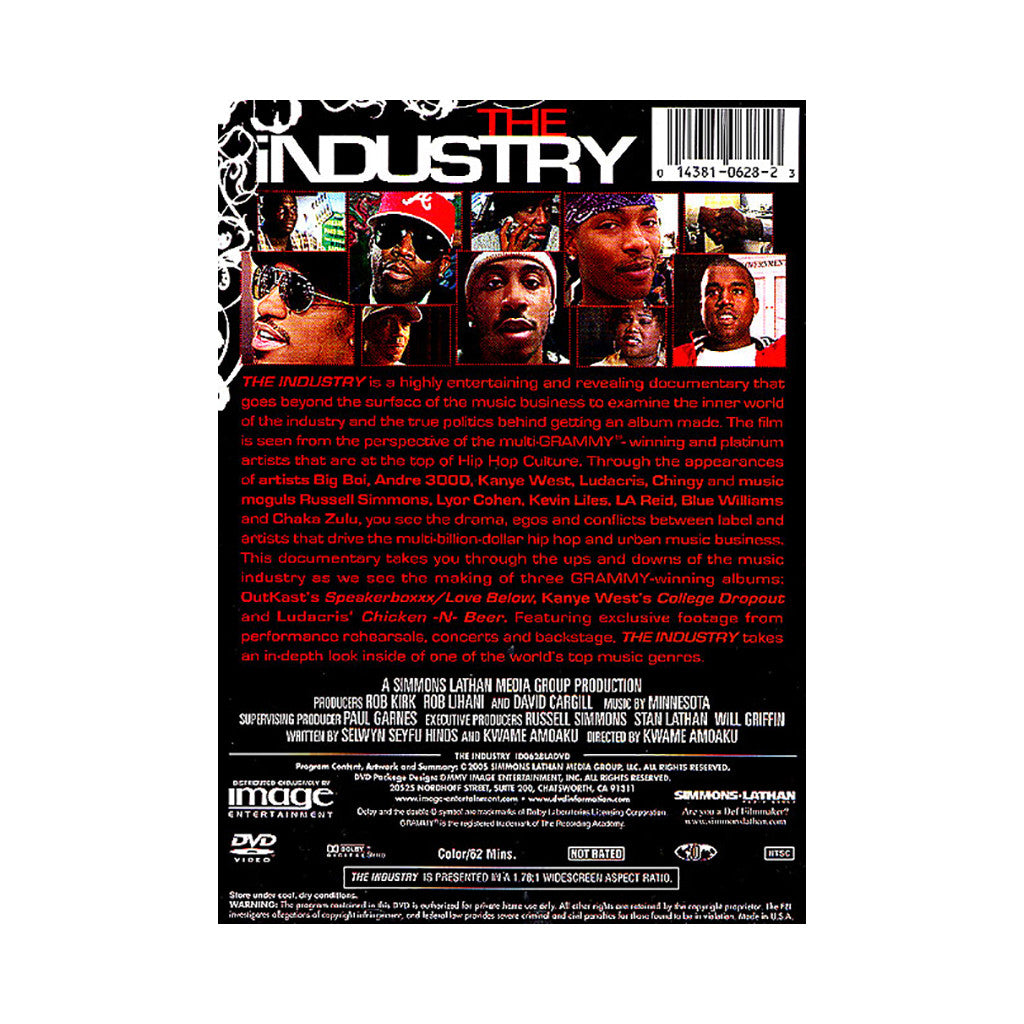 <!--020050809005592-->The Industry (Russell Simmons' Hip Hop Speaks Series Presents) - 'The Industry: The Real Story Behind The Game' [DVD]