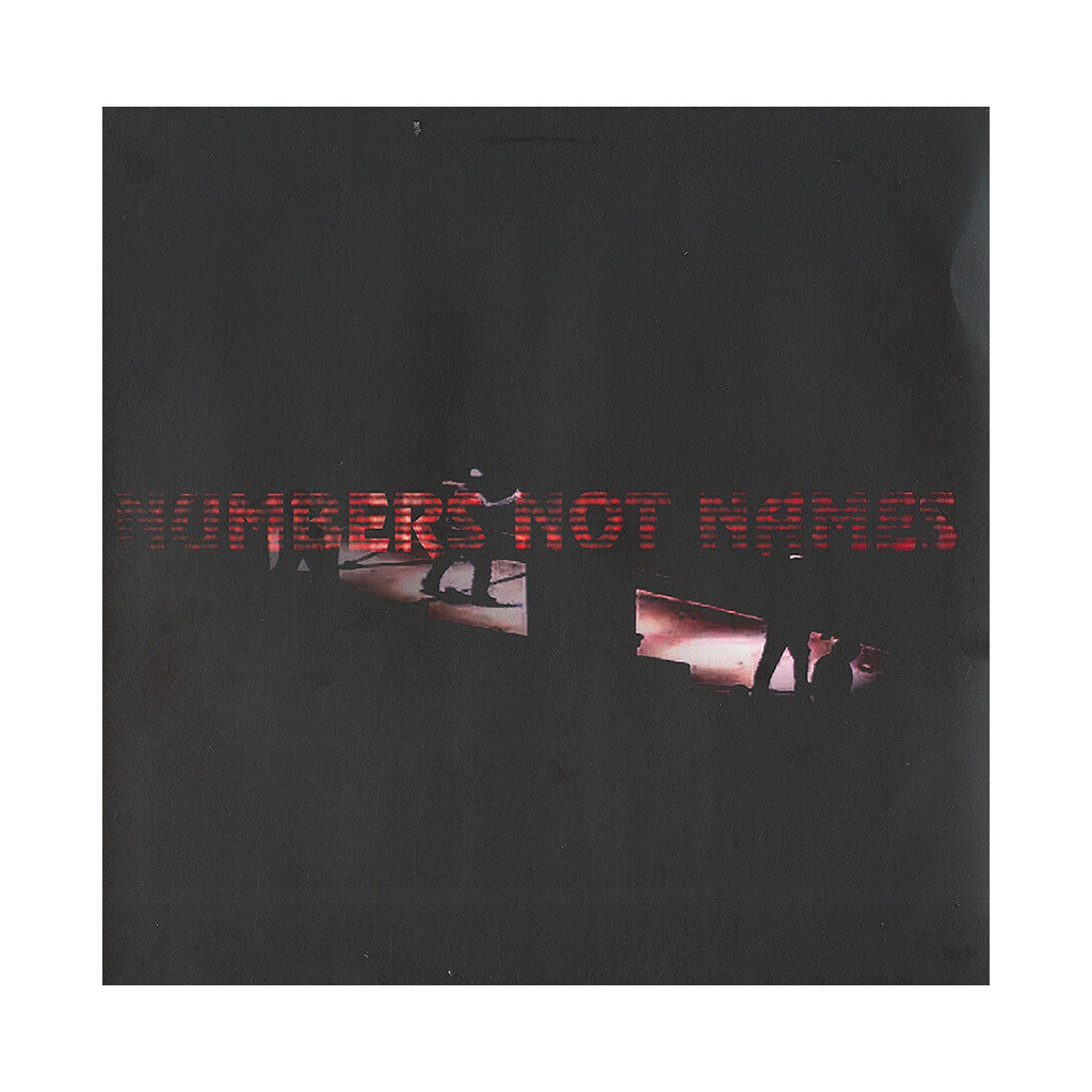 "<!--020120417053698-->Numbers Not Names - 'Numbers Not Names' [(Black) 12"" Vinyl Single]"