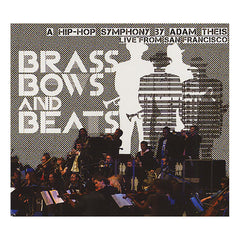 Adam Theis & The Jazz Mafia Symphony - 'Brass Bows & Beats: A Hip-Hop Symphony by Adam Theis' [CD]
