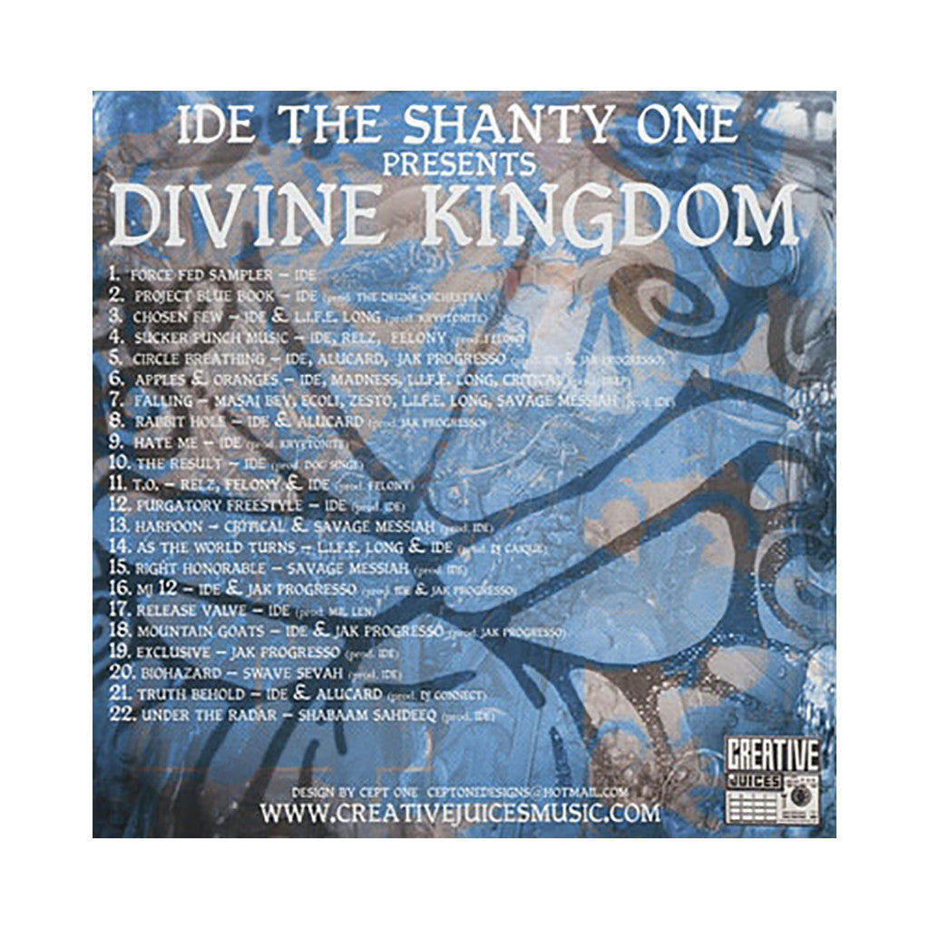 IDE - 'Divine Kingdom' [CD]