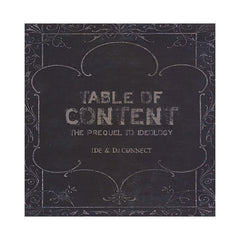 <!--120090526016989-->IDE & DJ Connect - 'Table Of Content: The Prequel To Ideology' [CD]