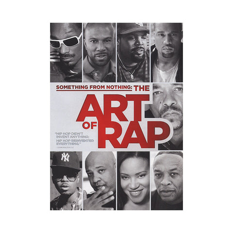 "[""'Something From Nothing: The Art Of Rap' [DVD]""]"
