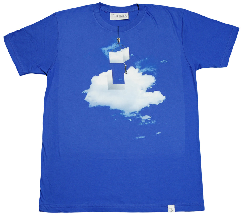 <!--2012022853-->Imaginary Foundation - 'Cloud Construction' [(Blue) T-Shirt]