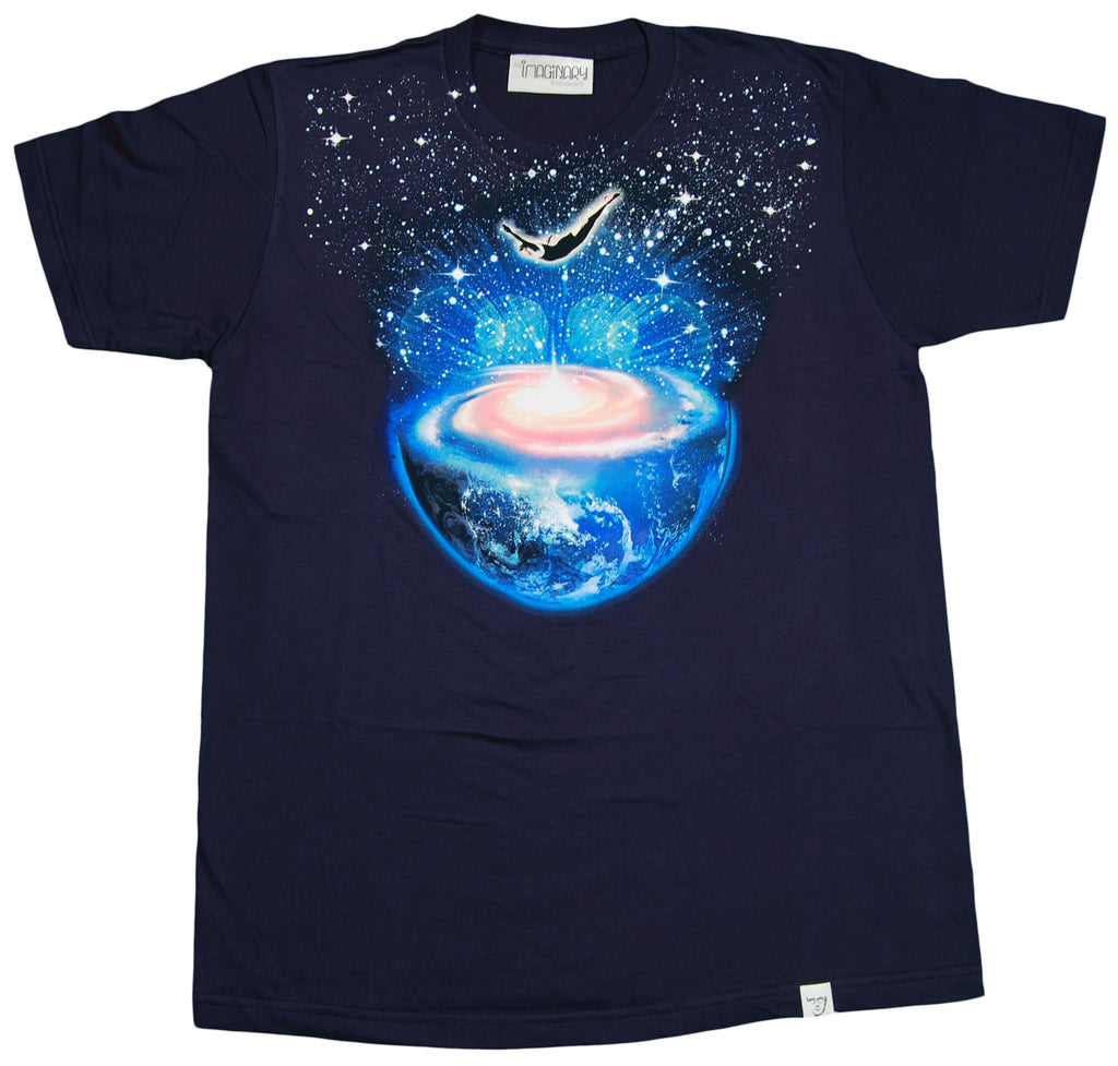 <!--2012022853-->Imaginary Foundation - 'Dive' [(Dark Blue) T-Shirt]
