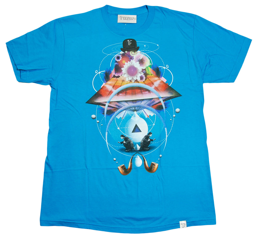<!--2012081428-->Imaginary Foundation - 'Andromedan' [(Light Blue) T-Shirt]