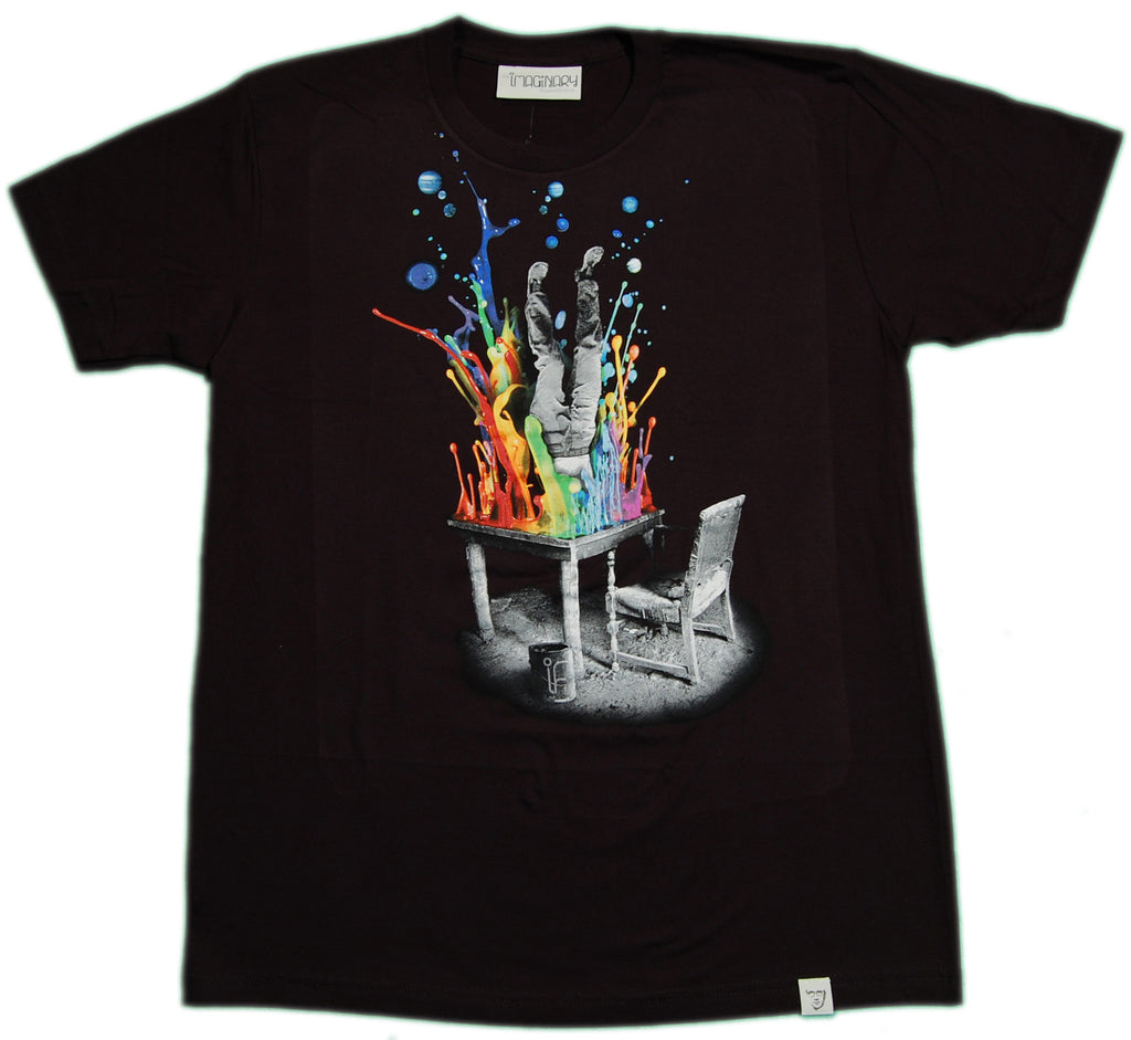 <!--2012120453-->Imaginary Foundation - 'Plunge' [(Black) T-Shirt]