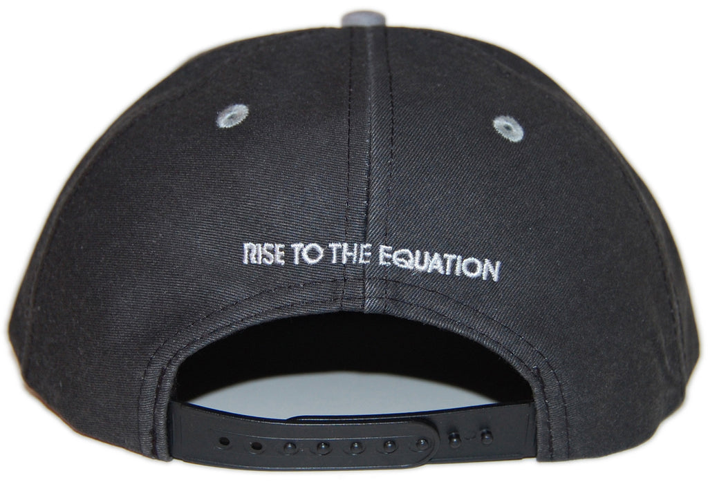 <!--020130604057439-->Imaginary Foundation - 'Chalkboard' [(Dark Gray) Snap Back Hat]