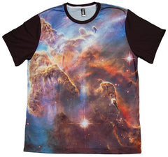 <!--2013031211-->Imaginary Foundation - 'Nebula Panel Sublimation' [(Multi-Color) T-Shirt]