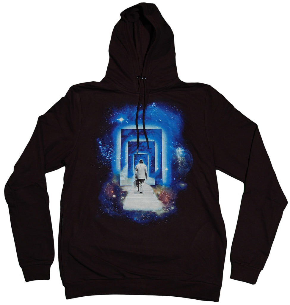 <!--2011091337-->Imaginary Foundation - 'Multiverse' [(Black) Hooded Sweatshirt]