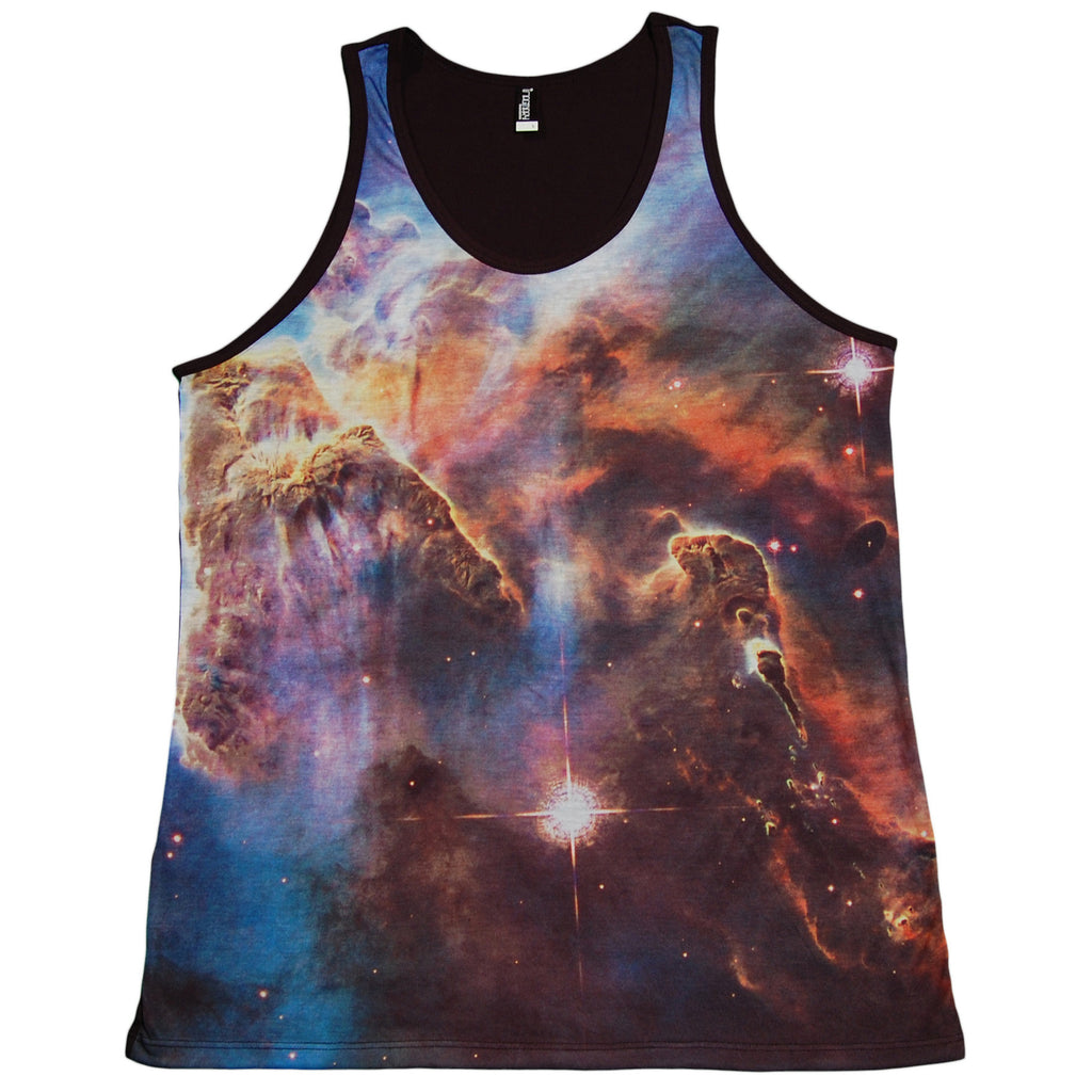 <!--2013060406-->Imaginary Foundation - 'Nebula Sublimation' [(Multi-Color) Tank Top]