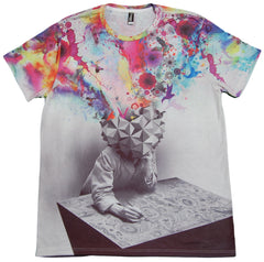 <!--2012092524-->Imaginary Foundation - 'Study Sublimation' [(Multi-Color) T-Shirt]