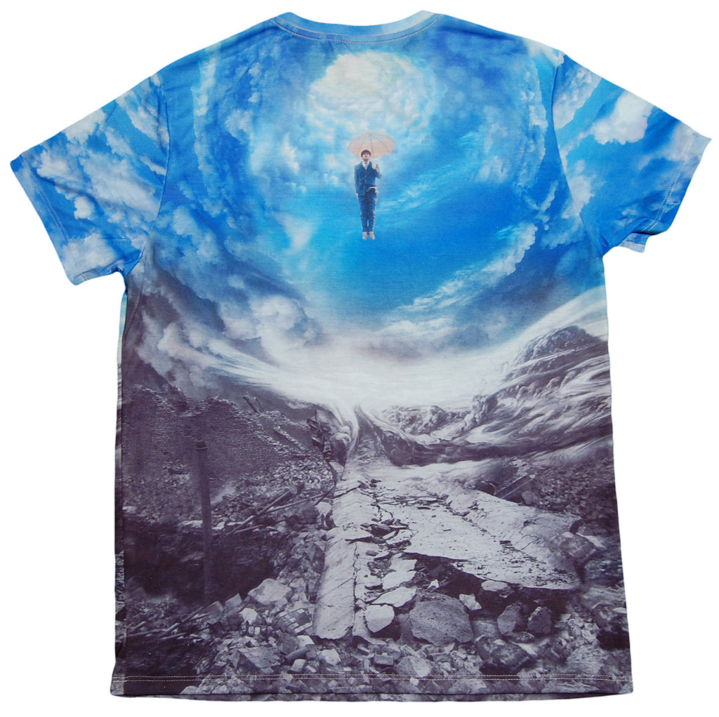 <!--2012120457-->Imaginary Foundation - 'Cloud 9 Sublimation' [(Multi-Color) T-Shirt]