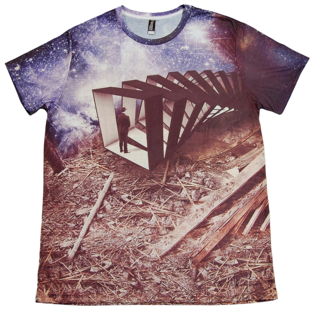 <!--2012120402-->Imaginary Foundation - 'Frame Of Reference Sublimation' [(Multi-Color) T-Shirt]