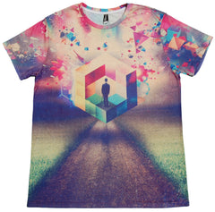 <!--2012120433-->Imaginary Foundation - 'Squared Sublimation' [(Multi-Color) T-Shirt]
