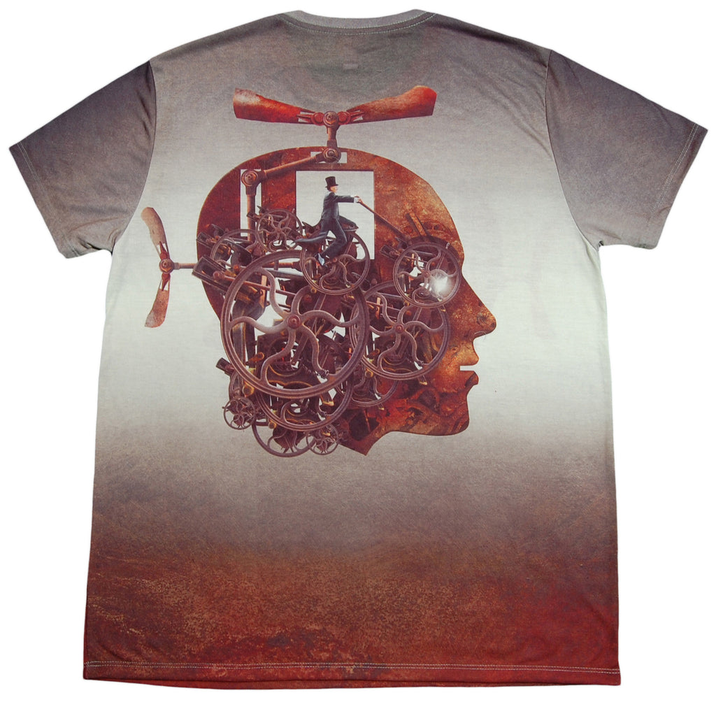 <!--2012120410-->Imaginary Foundation - 'Flying Machine Sublimation' [(Multi-Color) T-Shirt]
