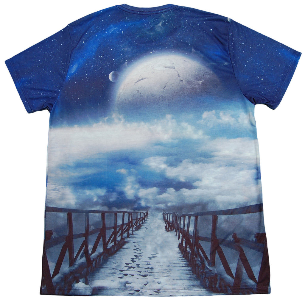 <!--2013031246-->Imaginary Foundation - 'Moonrise Sublimation' [(Multi-Color) T-Shirt]