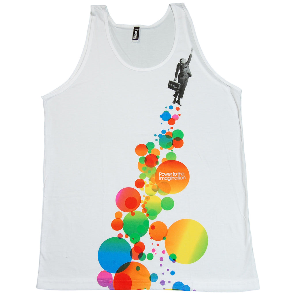 <!--2011091306-->Imaginary Foundation - 'Fly' [(White) Tank Top]