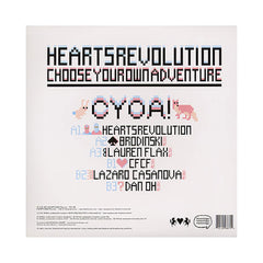 <!--020081223015706-->Heartsrevolution - 'CYOA/ CYOA! (Remixes)' [(Pink) Vinyl EP]