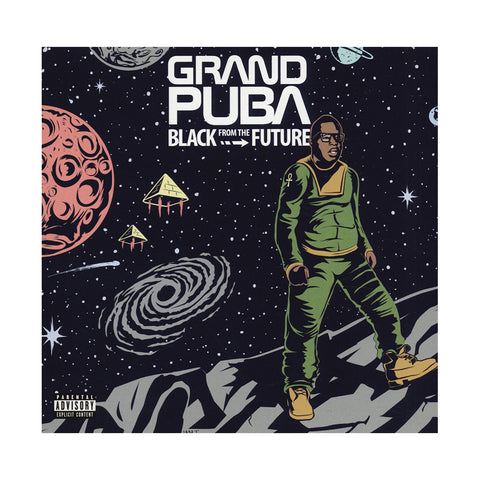 "[""Grand Puba - 'Black From The Future' [CD]""]"