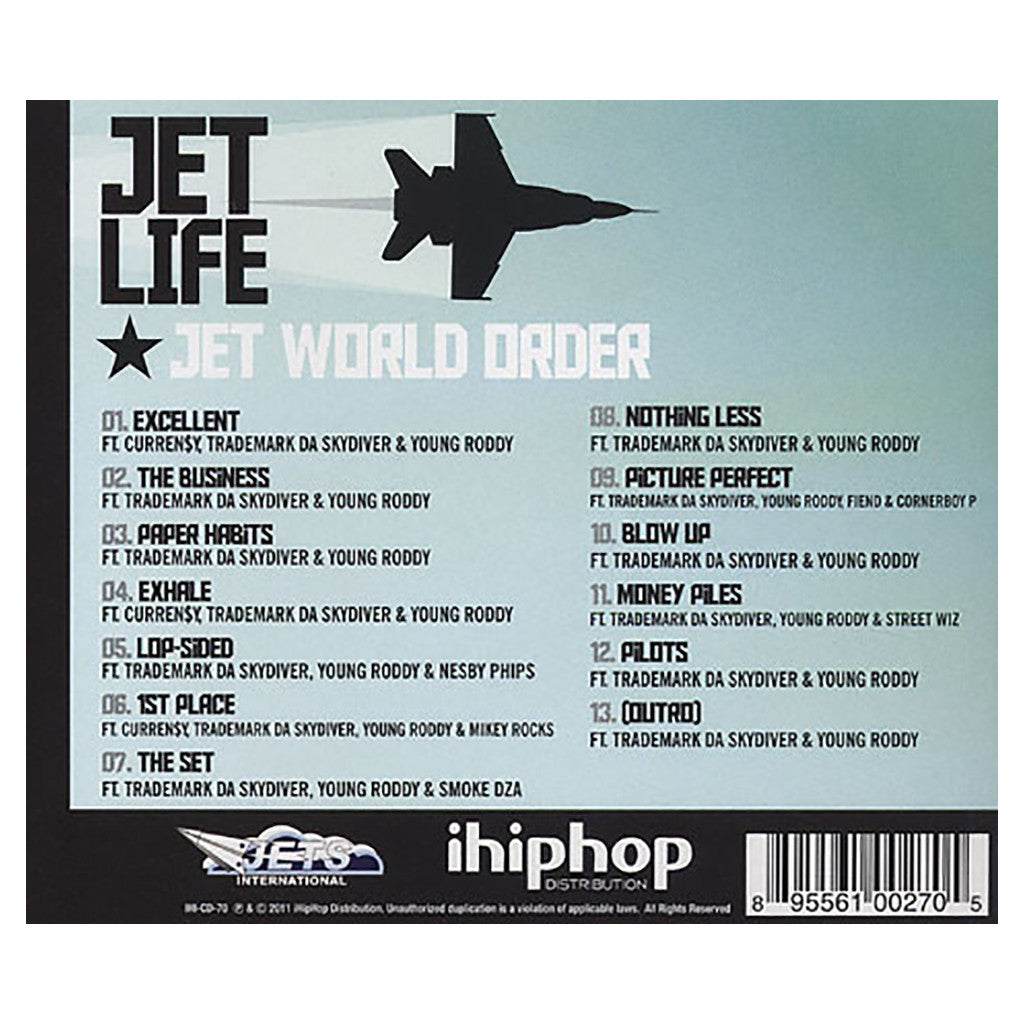 <!--2011112233-->Jet Life - 'Jet World Order' [CD]