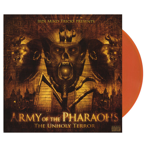 Army Of The Pharaohs - 'The Unholy Terror' [(Clear Orange) Vinyl [2LP]]