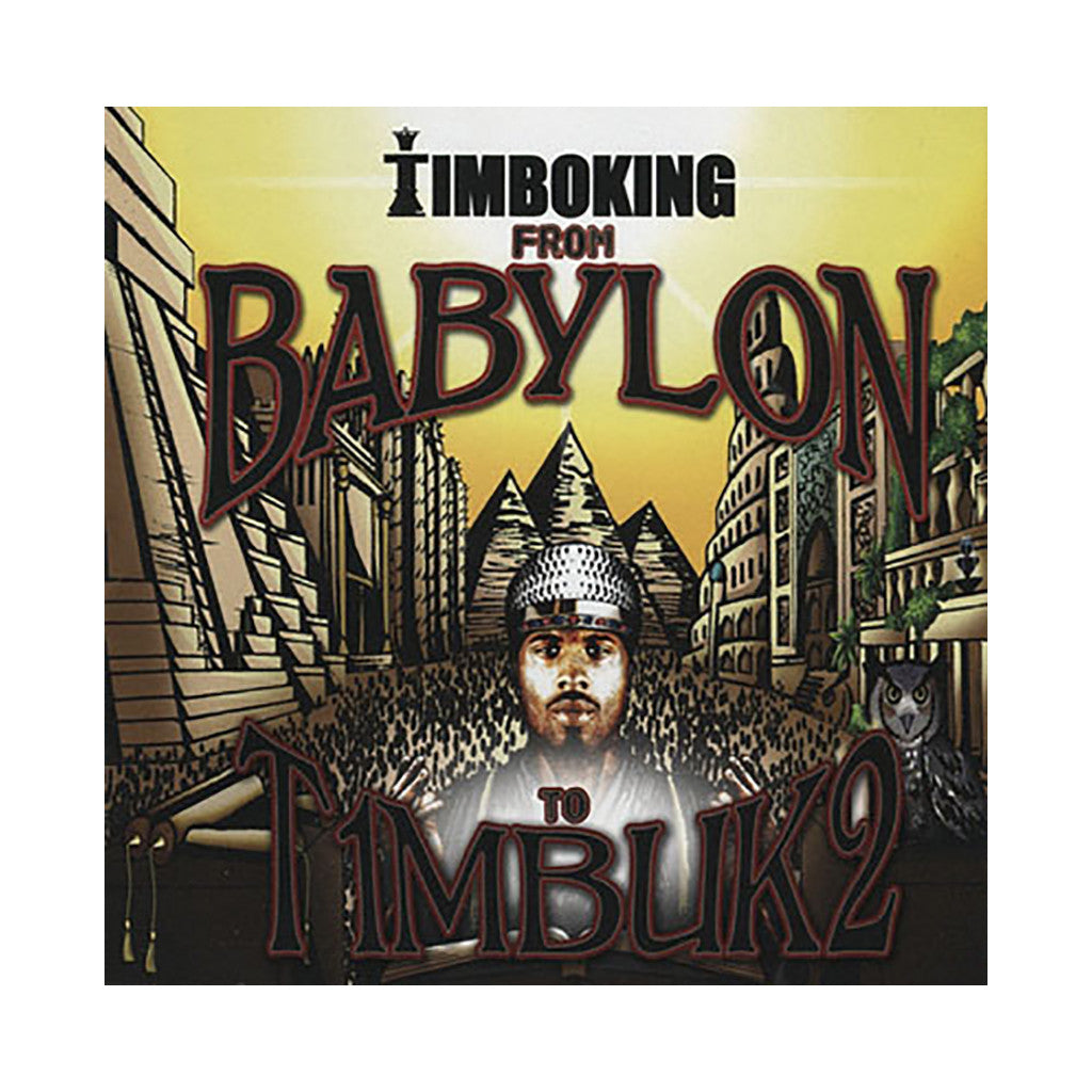 Timbo King - 'From Babylon To Timbuk2' [CD]