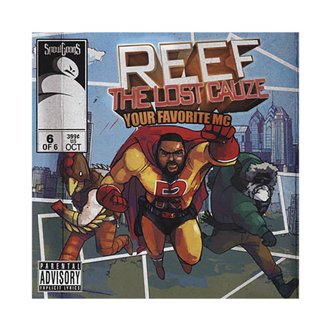 Reef The Lost Cauze & Snowgoons - 'Your Favorite MC' [CD]