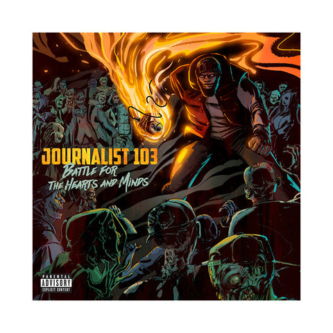 "[""Journalist 103 - 'Battle For The Hearts And Minds' [(Black) Vinyl LP]""]"
