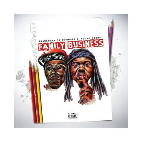 Trademark Da Skydiver & Young Roddy - 'Family Business' [CD]
