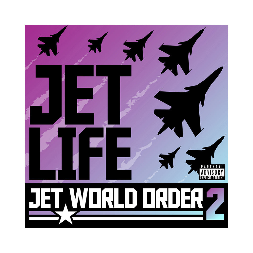 <!--020080101050073-->Jet Life - 'Jet World Order 2' [(Black) Vinyl LP]