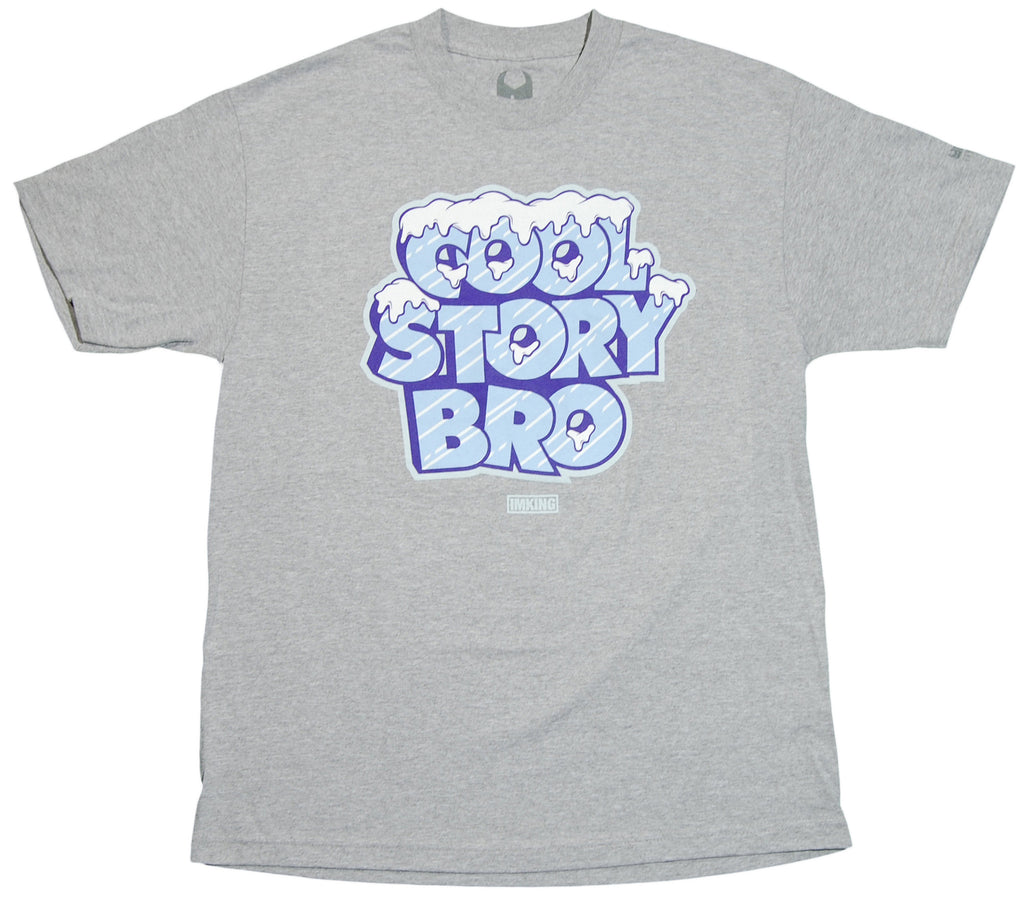 <!--2011112248-->IM King - 'Cool Story Bro' [(Gray) T-Shirt]