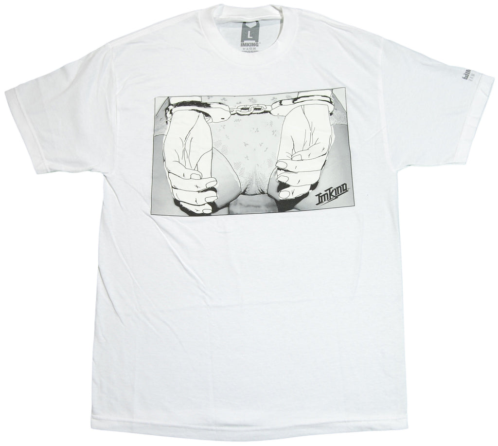 <!--2011112224-->IM King - 'Cuffed' [(White) T-Shirt]