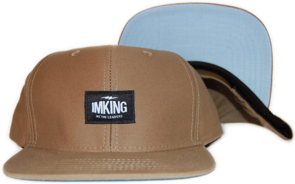 <!--020110830034517-->IM King - 'We The Leaders' [(Light Brown) Snap Back Hat]