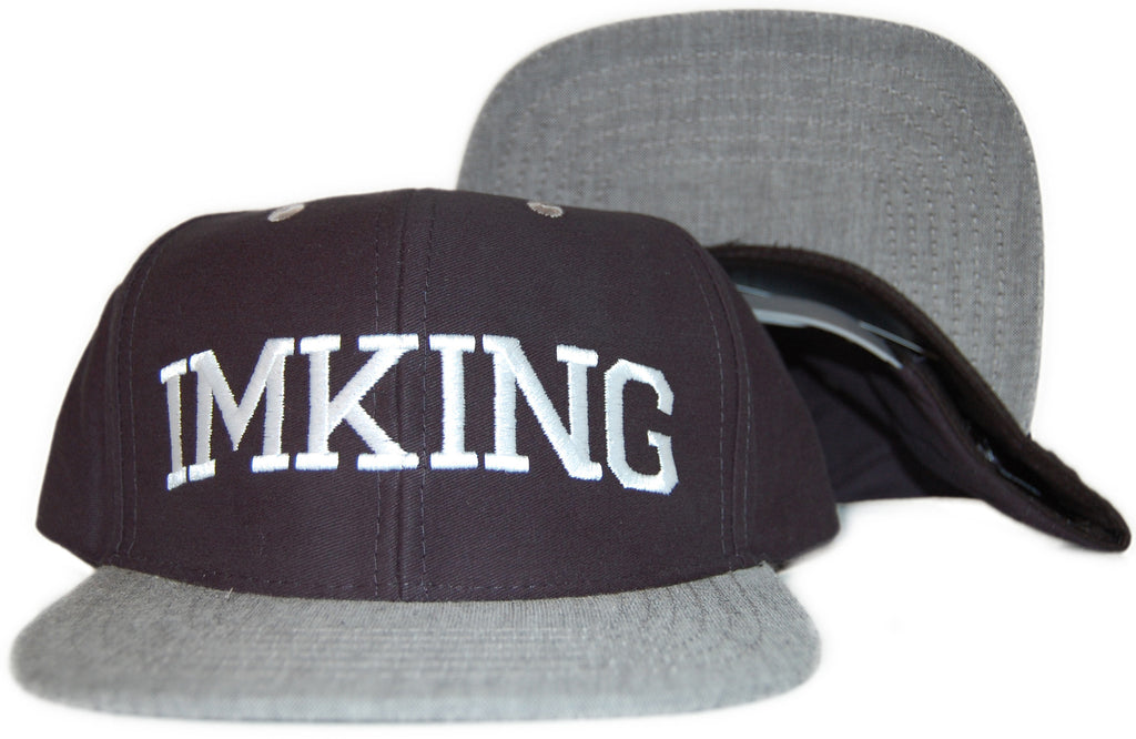 <!--020110830034518-->IM King - 'The Block Party' [(Dark Blue) Snap Back Hat]