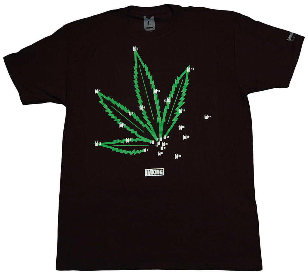 <!--2012111306-->IM King - 'Pot 2 Pot' [(Black) T-Shirt]