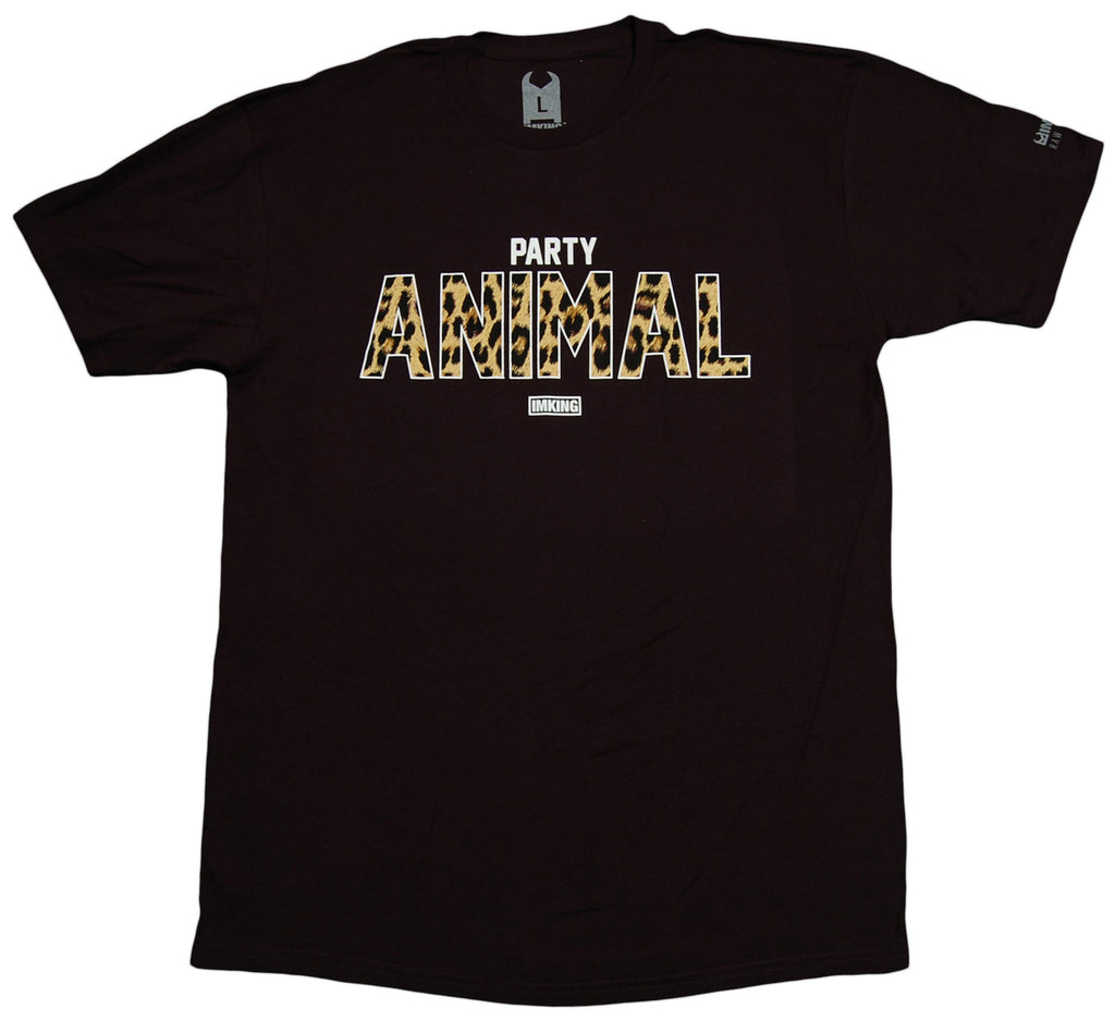 <!--2012121819-->IM King - 'Party Animal' [(Black) T-Shirt]