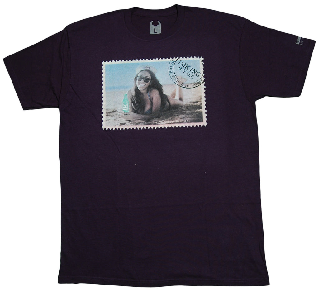 <!--2012081441-->IM King - 'Beach Bum' [(Dark Blue) T-Shirt]