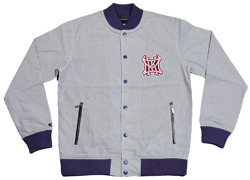 IM King - 'Zanetti - Railroad Stripe' [(Light Blue) Jacket]
