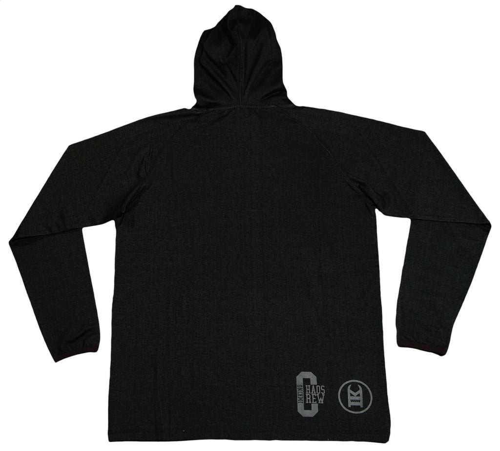 IM King - 'Raw Talent - Denim' [(Black) Hooded Sweatshirt]